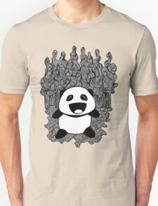 Panda In The Woods Unisex T-Shirt