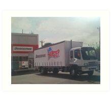 Angelo's Truck Art Print