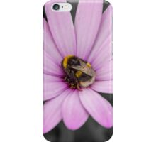 Bumble bee flower  iPhone Case/Skin