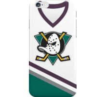 Mighty Ducks of Anaheim Home Jersey iPhone Case/Skin