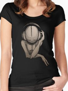 Music Lover Women's Fitted Scoop T-Shirt