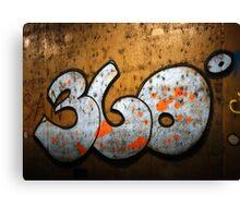 360 degrees Canvas Print