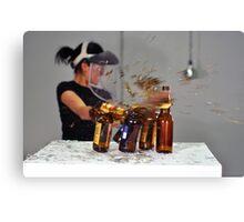 No More Beer Canvas Print