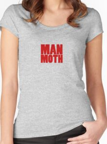 Man Moth Women's Fitted Scoop T-Shirt