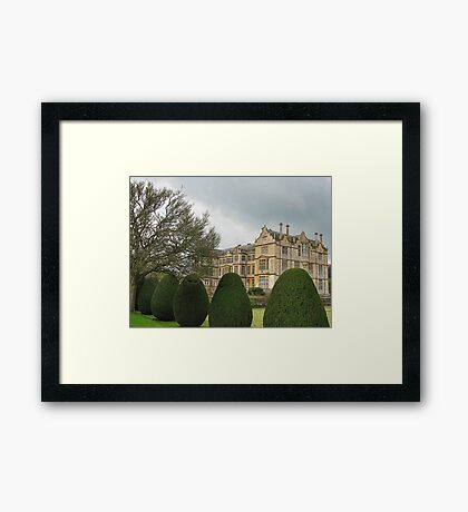 Another View Of Montacute House Framed Print