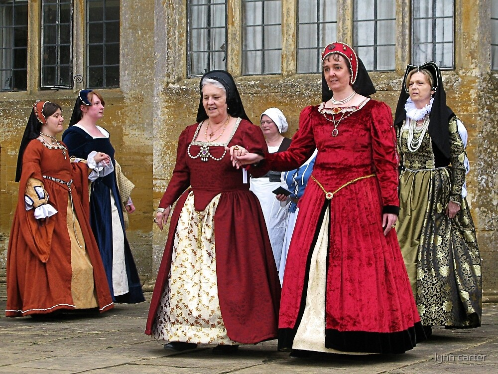 Make Way For The Dancers At Montacute House by lynn carter