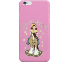 100% Country Girl iPhone Case/Skin