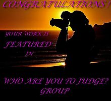 FEATURED TODAY!..Congratulations you're our new Featured Banner Winner by RoseMarie747