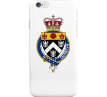 Coat of arms (family crest) for last-name or surname Raymond (England) . Heraldry banner for your name. iPhone Case/Skin