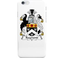 Coat of arms (family crest) for last-name or surname Raymond . Heraldry banner for your name. iPhone Case/Skin