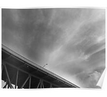 Bridge on the Lake Poster