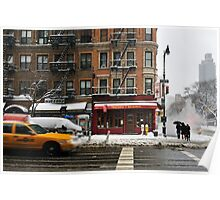 First avenue - 59th street -  New York Poster