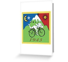 Discovery of LSD Greeting Card