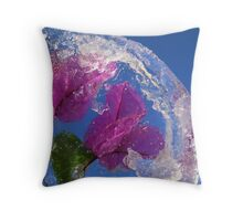 Quo vadis,Planet Earth ? Throw Pillow