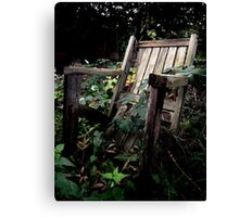Reclaimed by nature Canvas Print