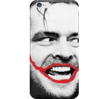 THE JOKER X SHINING X JACK NICHOLSON iPhone Case/Skin