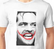 THE JOKER X SHINING X JACK NICHOLSON Unisex T-Shirt