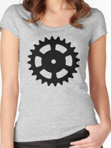 Cog and Roll Women's Fitted Scoop T-Shirt