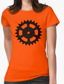 Cog and Roll Womens Fitted T-Shirt