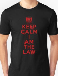 Dredd Keep Calm Unisex T-Shirt