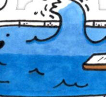 Wave Pool Sticker