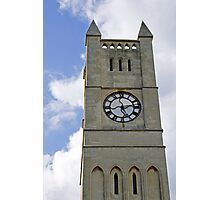The Clock Tower of Shanklin United Reformed Church Photographic Print