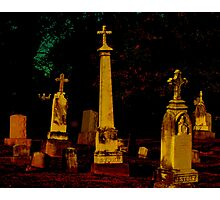 A Cemetary in Kentucky Photographic Print