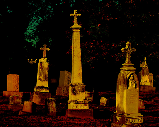 A Cemetary in Kentucky by Phil Campus