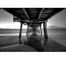Henley beach jetty, Adelaide South Australia Photographic Print