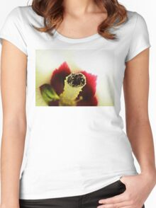 Okra Women's Fitted Scoop T-Shirt