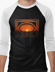 touch down Men's Baseball ¾ T-Shirt