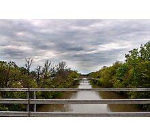 Bridge over Creek Photographic Print