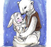 My Polar Bear Buddy by Ankolie