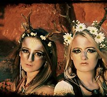 Yaz & Immi by chrissy carter
