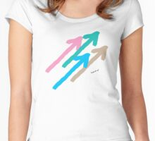 Arrows No3 Women's Fitted Scoop T-Shirt