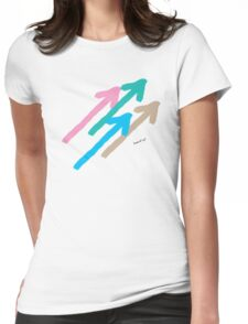 Arrows No3 Womens Fitted T-Shirt