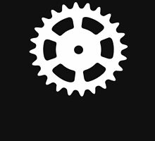 Cog and Roll (white) Unisex T-Shirt