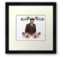 Ron F*****g Swanson Framed Print