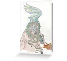 TK's Dragon Greeting Card