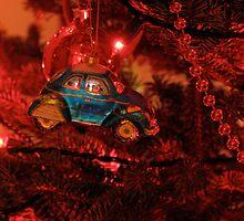 VW Beetle Christmas Ornament by vschmidt