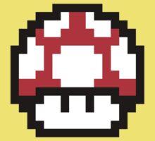 Mario Mushroom Kids Clothes