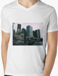 Boston Mens V-Neck T-Shirt