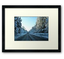 New Ice Age Cometh Framed Print