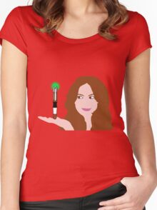 Naughty Amy Women's Fitted Scoop T-Shirt