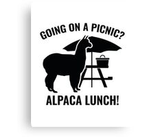Going On A Picnic? Canvas Print