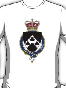 Coat of arms (family crest) for last-name or surname Ring (England) . Heraldry banner for your name. T-Shirt