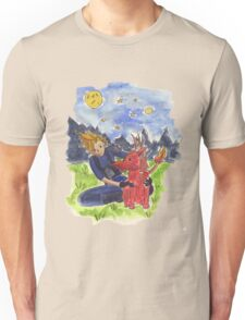 Cloud and Red XIII Unisex T-Shirt
