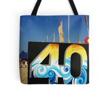 40 years of genius Tote Bag