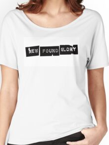 New Found Glory Logo Women's Relaxed Fit T-Shirt
