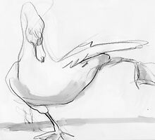 Swan Stretch by WoolleyWorld